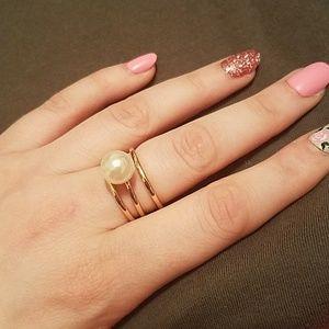 Avon Regal Empire Ring Set -Size 10
